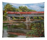 Blair Bridge Campton New Hampshire Tapestry