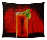 Bloody Mary Coctail Tapestry