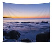 Blue Dawn Acadia National Park Tapestry
