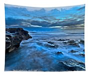 Blue Dawn Tapestry