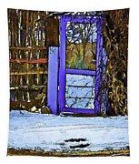 Blue Gate #24 Tapestry