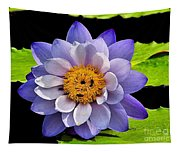 Blue Lily Tapestry