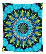 Blue Mandela 102311 Tapestry