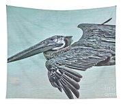 Blue Pelican Tapestry