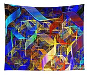 Blue Shift Tapestry