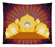 Blue Sun Temple 2012 Tapestry