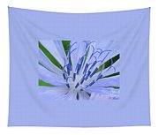 Blue Wild Flower Tapestry