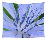 Blue Wildflower Tapestry