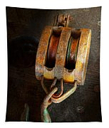 Boat - Block And Tackle II Tapestry