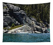 Boat A Rockin Tapestry