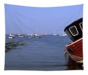 Boat Moored In The Sea, Strangford Tapestry