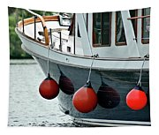 Boat Time Tapestry
