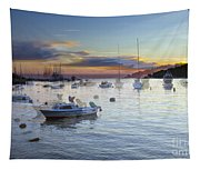 Boats On The Water Tapestry