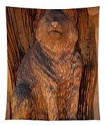 Bobcat Reflections Tapestry