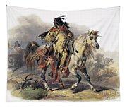 Bodmer: Blackfoot Horseman Tapestry