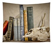 Bone Collector Library Tapestry
