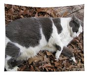 Boojer In Leaves Tapestry