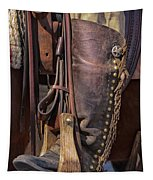 Boots Of A Drover Tapestry