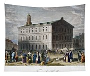 Boston: Faneuil Hall, 1776 Tapestry