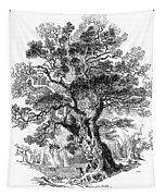 Botany: Oak Tree Tapestry