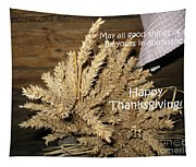 Bounty. Thanksgiving Greeting Card Tapestry