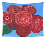 Bouquet Of Roses Tapestry