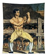 Boxing Champion, 1790s Tapestry