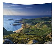 Boyeeghter Strand And Melmore Head Tapestry