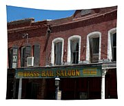 Brass Rail Saloon Tapestry