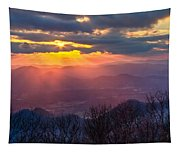 Brasstown Sunset Tapestry