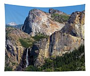 Bride At Yosemite Tapestry
