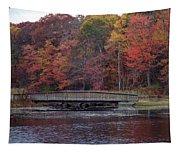 Bridge In Autumn Tapestry