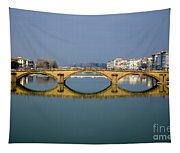 Bridge In Florence Tapestry