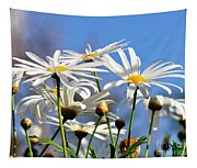 Bright Daisies Tapestry