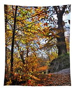 Bright Leaves Tapestry