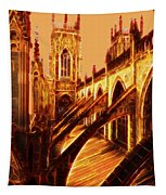 British Christian Cathedral  Tapestry