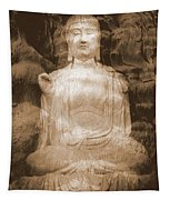 Buddha And Ancient Tree Tapestry