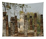 Buddha In Thailand Tapestry