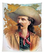 Buffalo Bill Cody, C1888 Tapestry