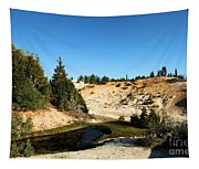 Bumpass Hell Pools Tapestry