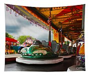 Bumper Cars Tapestry
