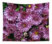 Bunch Of Chrysanths Tapestry