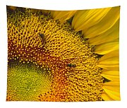 Busy Sunflower Tapestry