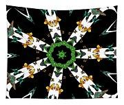 Butterflies Mania Kaleidoscope Tapestry
