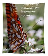 Butterfly Friendship Card Tapestry