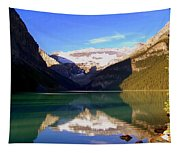 Butterfly Phenomenon At Lake Louise Tapestry