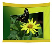 Butterfly Swallowtail 01 16 By 20 Tapestry