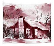 Cabin2 Tapestry