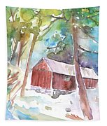 Cabine In The Troodos Mountains Tapestry