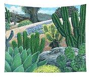 Cactus Garden Tapestry